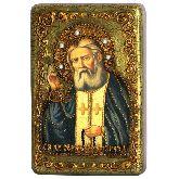 Преподобный Серафим Саровский чудотворец, Настольная икона, 10 Х15