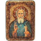 Преподобный Сергий Радонежский чудотворец, Аналойная икона, 21 Х29