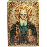 Преподобный Сергий Радонежский чудотворец, Большая икона, 29 Х42