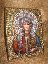 Икона, Равноапостольная Нина, просветительница Грузии