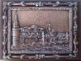 """Плакетка """"Кремлёвская набережная"""" в подарочной упаковке"""