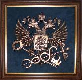 """Плакетка """"Герб Федеральной службы по налогам и сборам"""""""