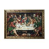 Репродукция из янтаря Тайная Вечеря Якопо Бассано