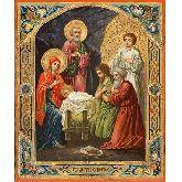 Стоимость иконы Рождество Христово РХ-03-1 40х33,5