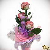Букет из конфет Розовый туман