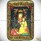 Божией Матери «Белыничская», настольная икона, 10х15 на мореном дубе