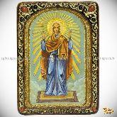 Божией Матери «Нерушимая Стена», живописная икона, 21х29 на кипарисе