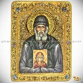 Паисий Святогорец, живописная икона, 21х29 на кипарисе