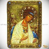 Ангел Хранитель, живописная икона, 21х29 на кипарисе