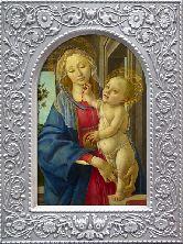 Мария с младенцем Гальванопластика 95х125