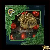 Ёлочное украшение из стекла  Гирлянда Доминго.