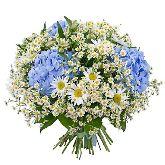 "Букет цветов ""Синие глазки"""