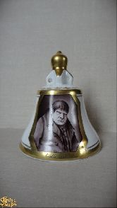 Фарфоровый колокольчик Собакевич МС