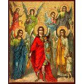 Купить икону Собор Архангелов арт СА-01 12х9,5