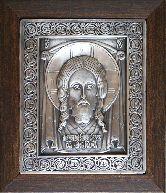 Икона Спас Нерукотворный, рамка классическая, 80х100