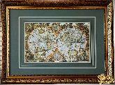 Большая карта мира 1683 года