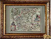 Старинная карта России 1614 года