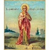 Цена иконы Св. Мария Магдалина ММГ-02-2 12х10