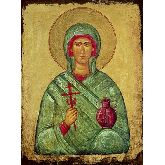 Цена иконы Св. вмч. Анастасия АУ-01-3 12х9