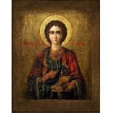 Стоимость иконы Св. вмч. цел. Пантелеймон П-04-2 12х9,5