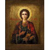 Цена иконы Св. вмч. цел. Пантелеймон П-04-1 18х14