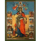 Купить икону Св. вмч. Варвара ВВ-01-6 18х13