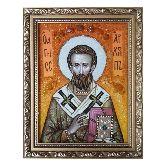 Священномученик Архипп икона из янтаря