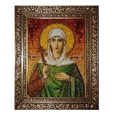 Святая Антонина Никейская икона из янтаря