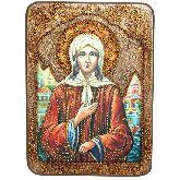 Святая Блаженная Ксения Петербургская, Аналойная икона, 21 Х29