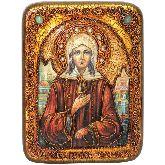 Святая Блаженная Ксения Петербургская, Подарочная икона, 15 Х20