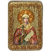 Святая Мученица Наталия Никомидийская, Настольная икона, 10 Х15