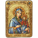 Святая праведная Анна, мать Пресвятой Богородицы, Аналойная икона, 21 Х29