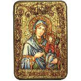 Святая праведная Анна, мать Пресвятой Богородицы, Настольная икона, 10 Х15