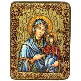 Святая праведная Анна, мать Пресвятой Богородицы, Подарочная икона, 15 Х20