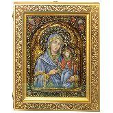 Святая праведная Анна, мать Пресвятой Богородицы, Живописная икона, 21 Х29