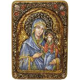 Святая праведная Анна, мать Пресвятой Богородиц, Живописная икона, 21 Х29