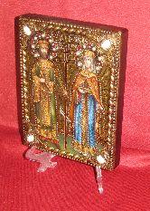 Икона, Святая Равноапостольная Елена и Святой Равноапостольный Константин