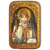 Святая Равноапостольная княгиня Ольга, Настольная икона, 10 Х15