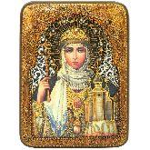 Святая Равноапостольная княгиня Ольга, Подарочная икона, 15 Х20