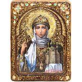 Святая Равноапостольная княгиня Ольга, Живописная икона, 21 Х29