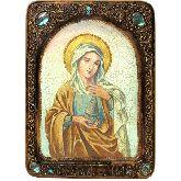 Святая Равноапостольная Мария Магдалина, Живописная икона, 21 Х29
