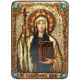 Святая Равноапостольная Нина, просветительница Грузии, Аналойная икона, 21 Х29
