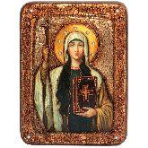 Святая Равноапостольная Нина, просветительница Грузии, Подарочная икона, 15 Х20
