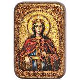 Святая великомученица Екатерина, Настольная икона, 10 Х15