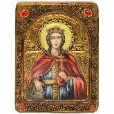 Святая великомученица Екатерина, Живописная икона, 21 Х29