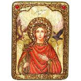Святая Великомученица Ирина Македонская, Аналойная икона, 21 Х29