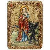 Святая великомученица Марина (Маргарита) Антиохийская, Аналойная икона, 21 Х29