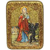 Святая великомученица Марина (Маргарита) Антиохийская, Подарочная икона, 15 Х20