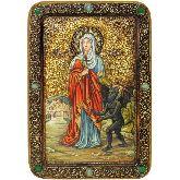 Святая великомученица Марина (Маргарита) Антиохийская, Живописная икона, 29 Х42