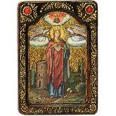 Святая великомученица Варвара Илиопольская, Живописная икона, 21 Х29